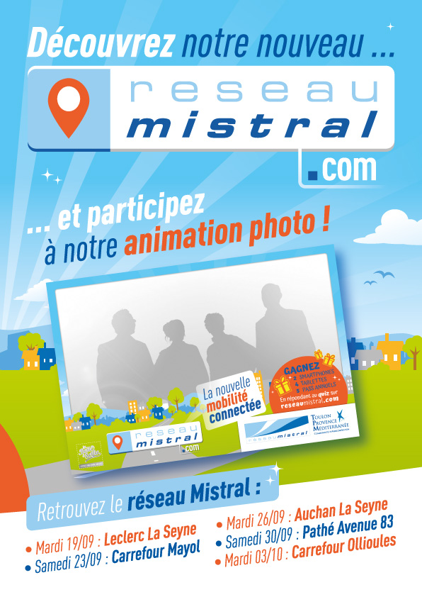 Agence de communication de service public à Toulon, impression de flyer dans le VAR, 83,