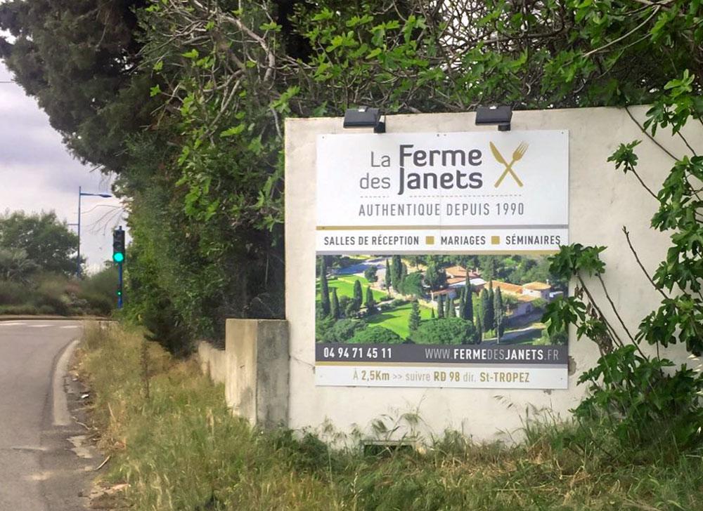 Communication-restaurant-bormes-signaletique-enseigne-impression-grand-format-Toulon-Var